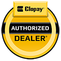 Midwest Garage Doors Inc. is an Authorized Clopay garage door dealer.